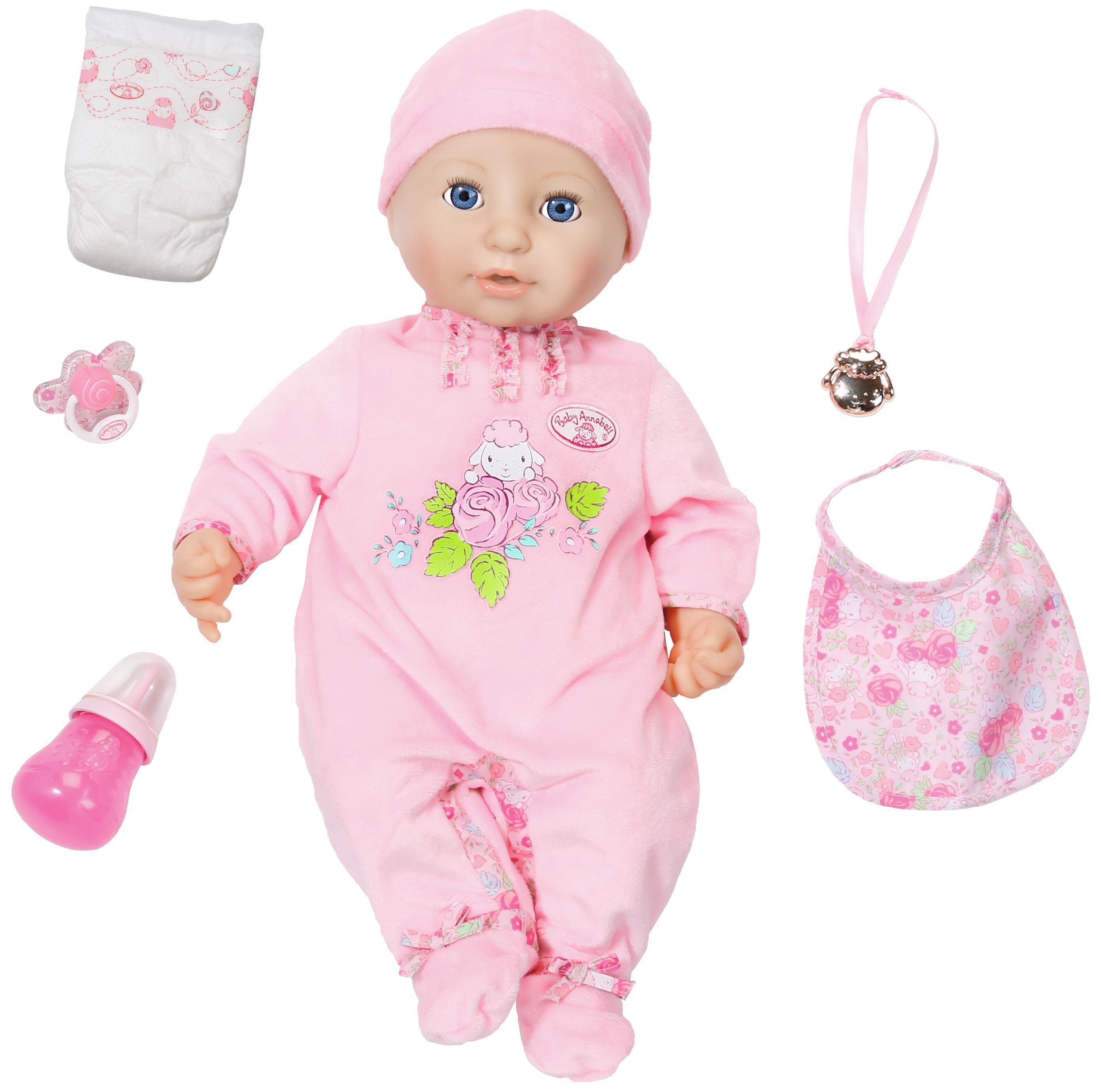 Многофункциональная кукла, 43 см, Baby Annabell
