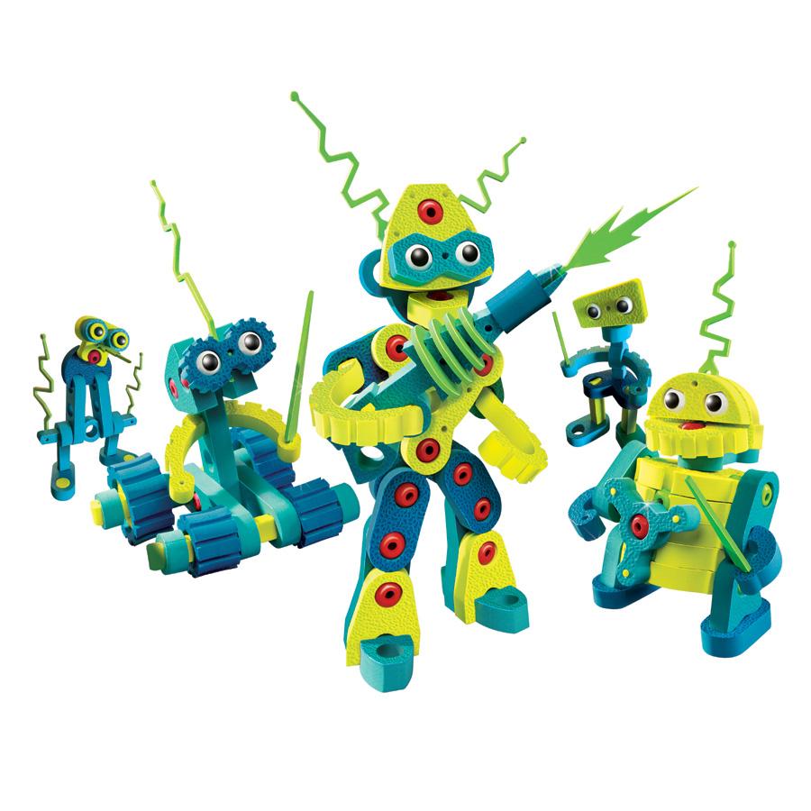Конструктор Bloco Вторжение Роботов