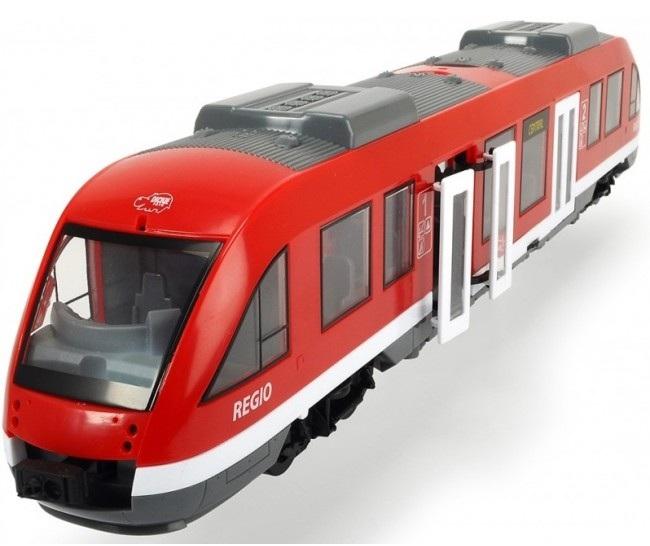 Купить Dickie Toys Городской поезд, 45 см, 3748002029, красный, Китай