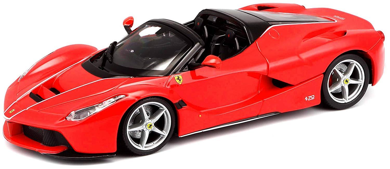 Купить BBURAGO Коллекционнная машина BB 18-26022 1:24 LAFERRARI APERTA RED, Красный , Гонконг