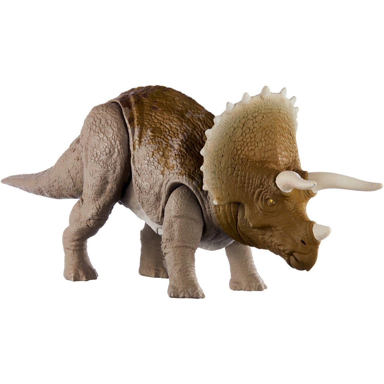 Купить Рычащие динозавры Jurrasic World Боевой удар Трицератопс, Jurassic World, Китай