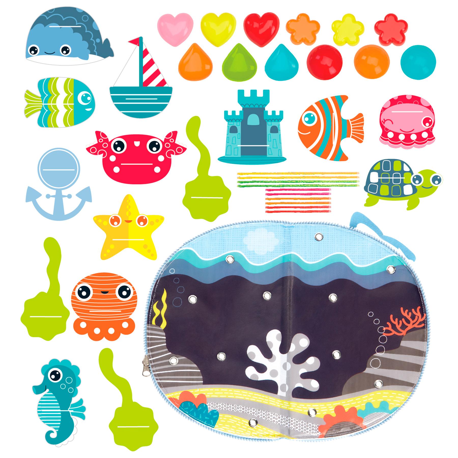 Купить Alex 220090-5 Набор для создания поделки из текстиля Океан , Китай