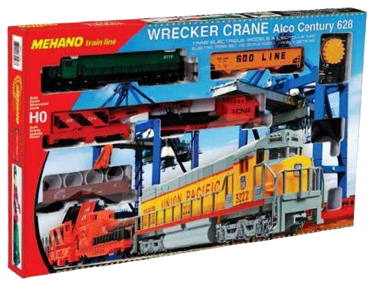 Железная дорога MEHANO T741 Wrecker Crane