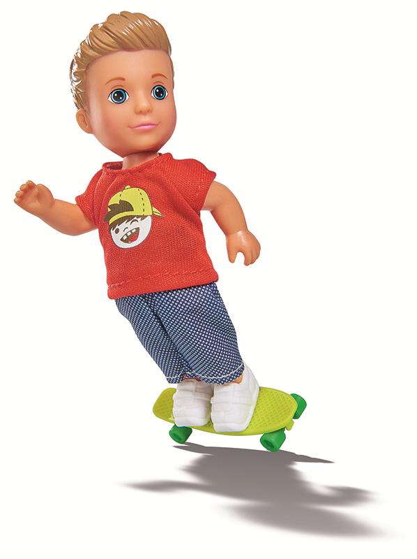 Купить Кукла EVI 5733070 Тимми-скейтбордист, Китай