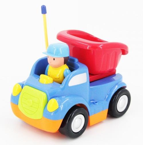 """JakMean """"Детская синяя радиоуправляемая машина - самосвал   6615-B"""""""