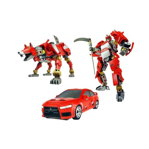 Happy Well сборный робот-трансформер  Mitsubishi Lancer EVO 55050