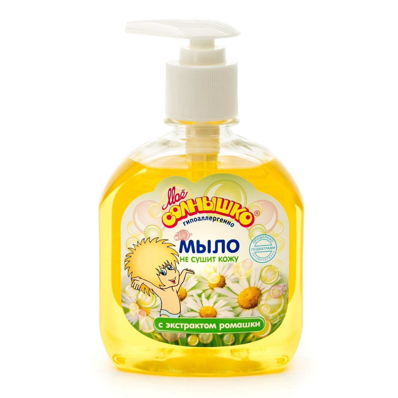 Купить Моё солнышко Жидкое мыло с экстрактом ромашки, 300 мл, Россия