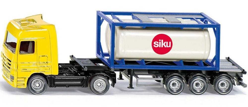Купить SIKU Грузовик с контейнером-цистерной 1:87, 1795 , Китай
