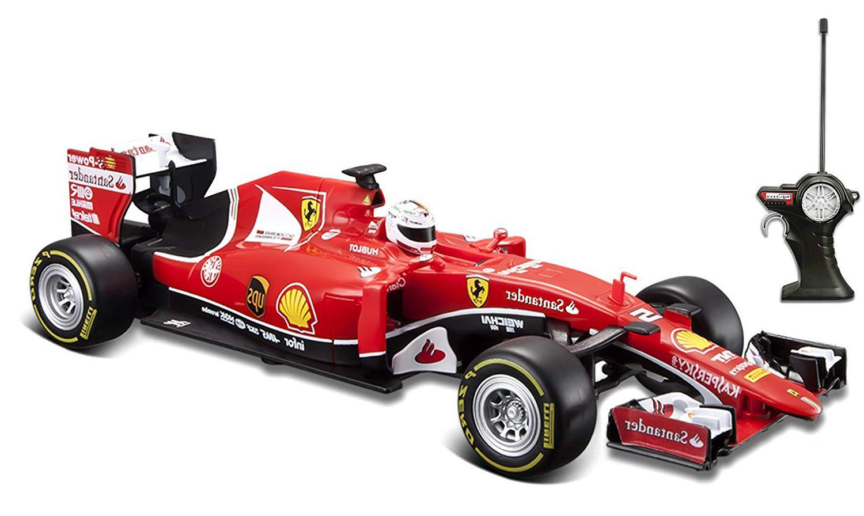 Купить Maisto Ferrari SF15-T 1:24 - Красная радиоуправляемая машинка , Китай