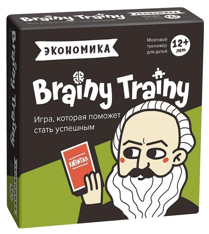 BRAINY TRAINY Игра-головоломка УМ267 Экономика