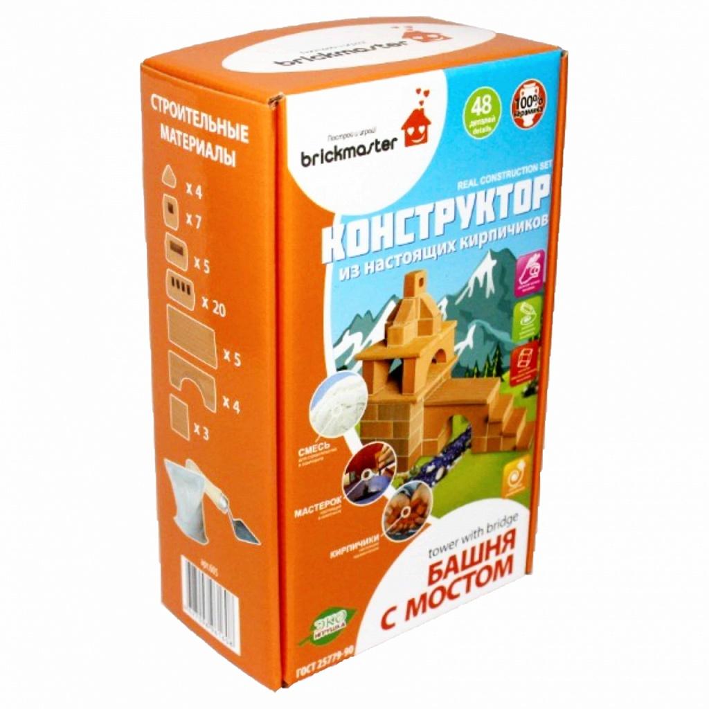 Купить BRICKMASTER Конструктор Башня с мостом 605, Россия