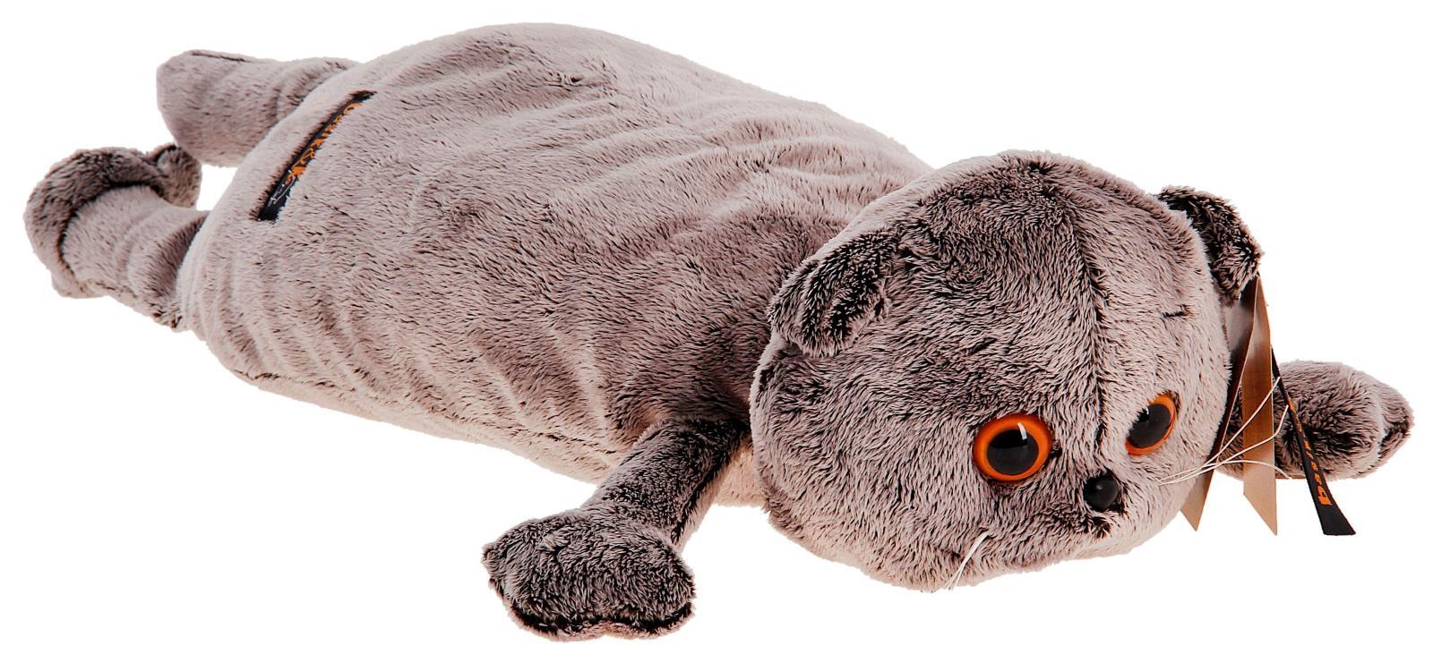 Купить BUDI BASA Кот-подушка | 40см - мягкая игрушка, Россия