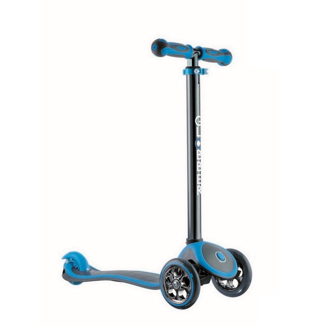 Купить Y-SCOO Самокат RT GLOBBER My free TITANIUM neon blue с блокировкой колёс, Китай