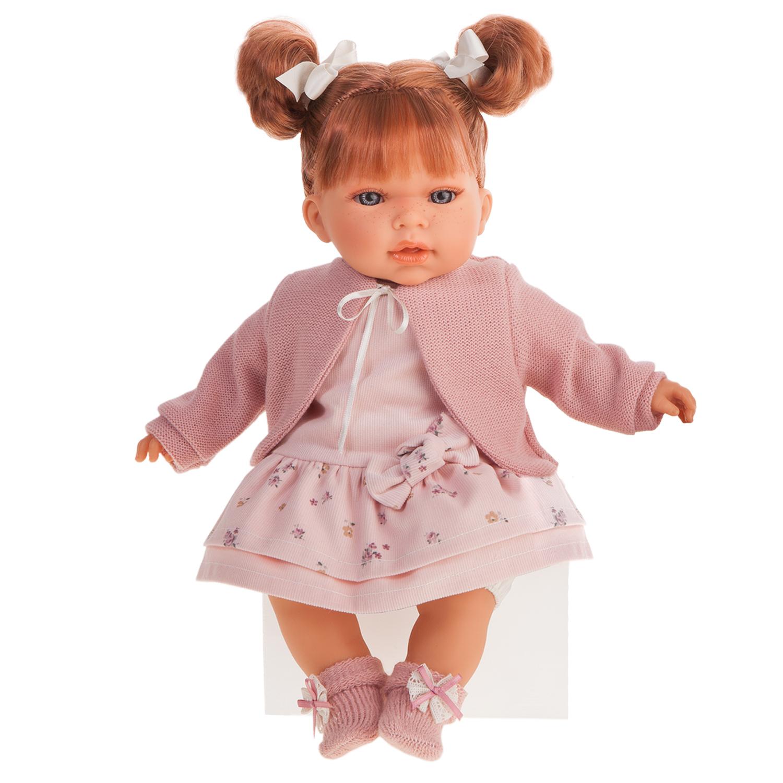 Купить Antonio Juan Озвученная кукла Альма в розовом, 37 см, Испания