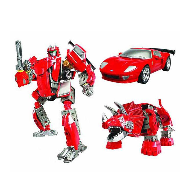 Happy Well сборный робот-трансформер  FORD GT 55040