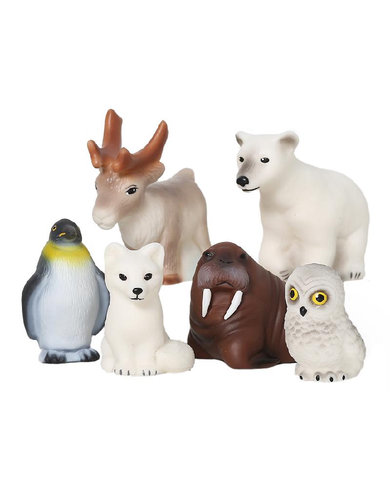 Купить ВЕСНА Животные Арктики и Антарктики В3467 - набор фигурок, Весна, Россия