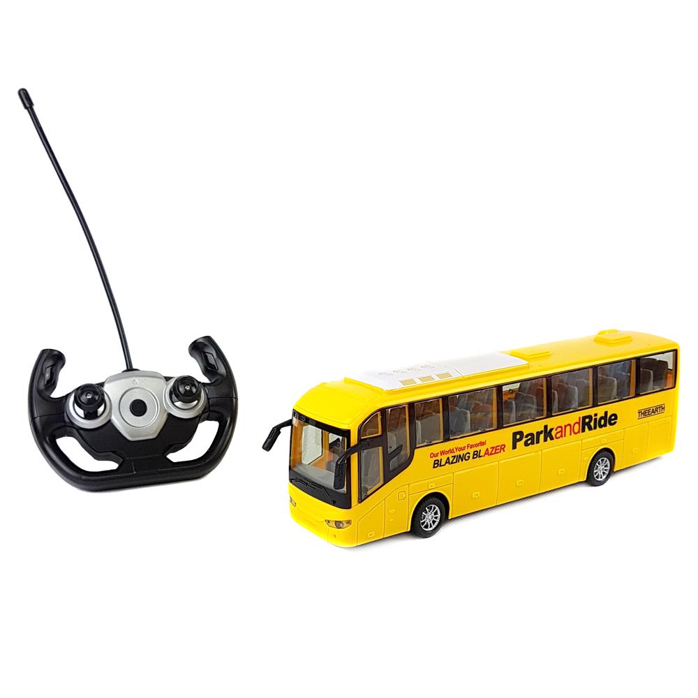 """MAYA TOYS радиоуправляемая машинка """"Туристический Автобус 666-698A"""" жёлтый"""