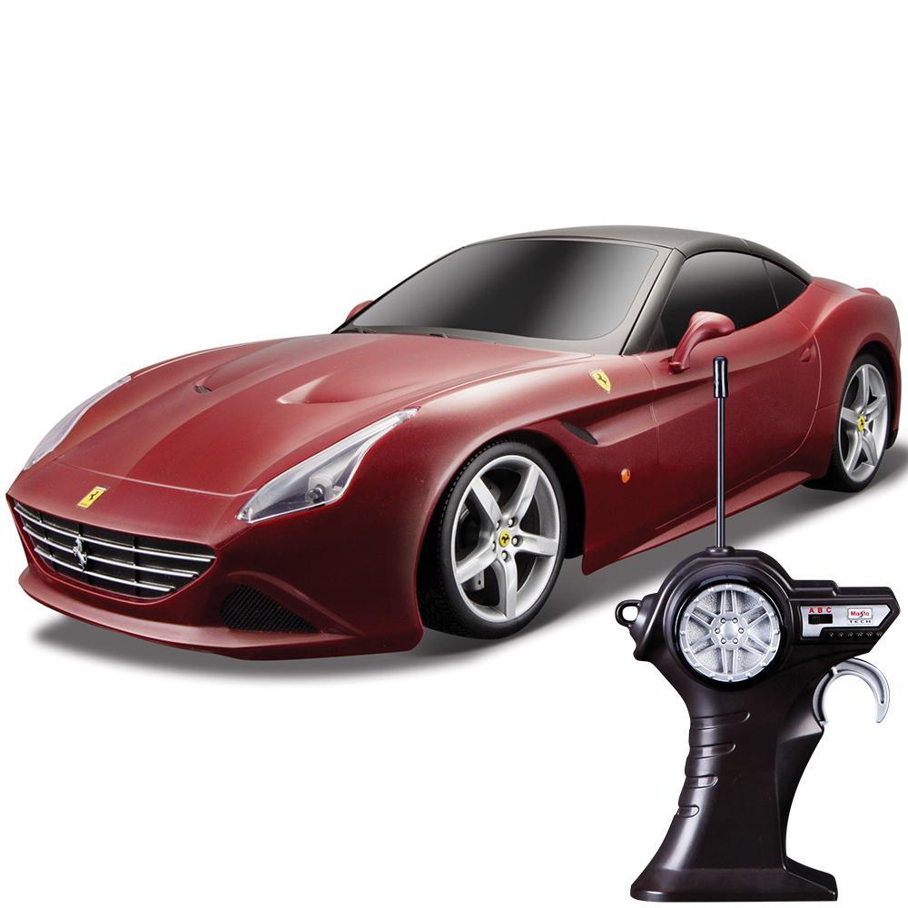 Купить Maisto машина радиоуправляемая 1:14 Ferrari California T Street Series вишневый 81247, Китай