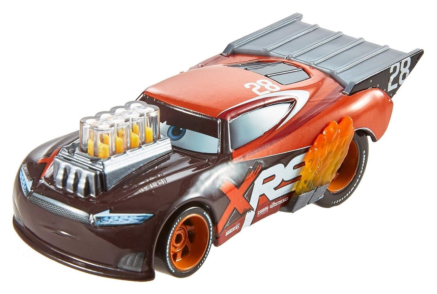 Купить Cars Экстримальные тачки Nitroade - машинка из мультфильма, Китай