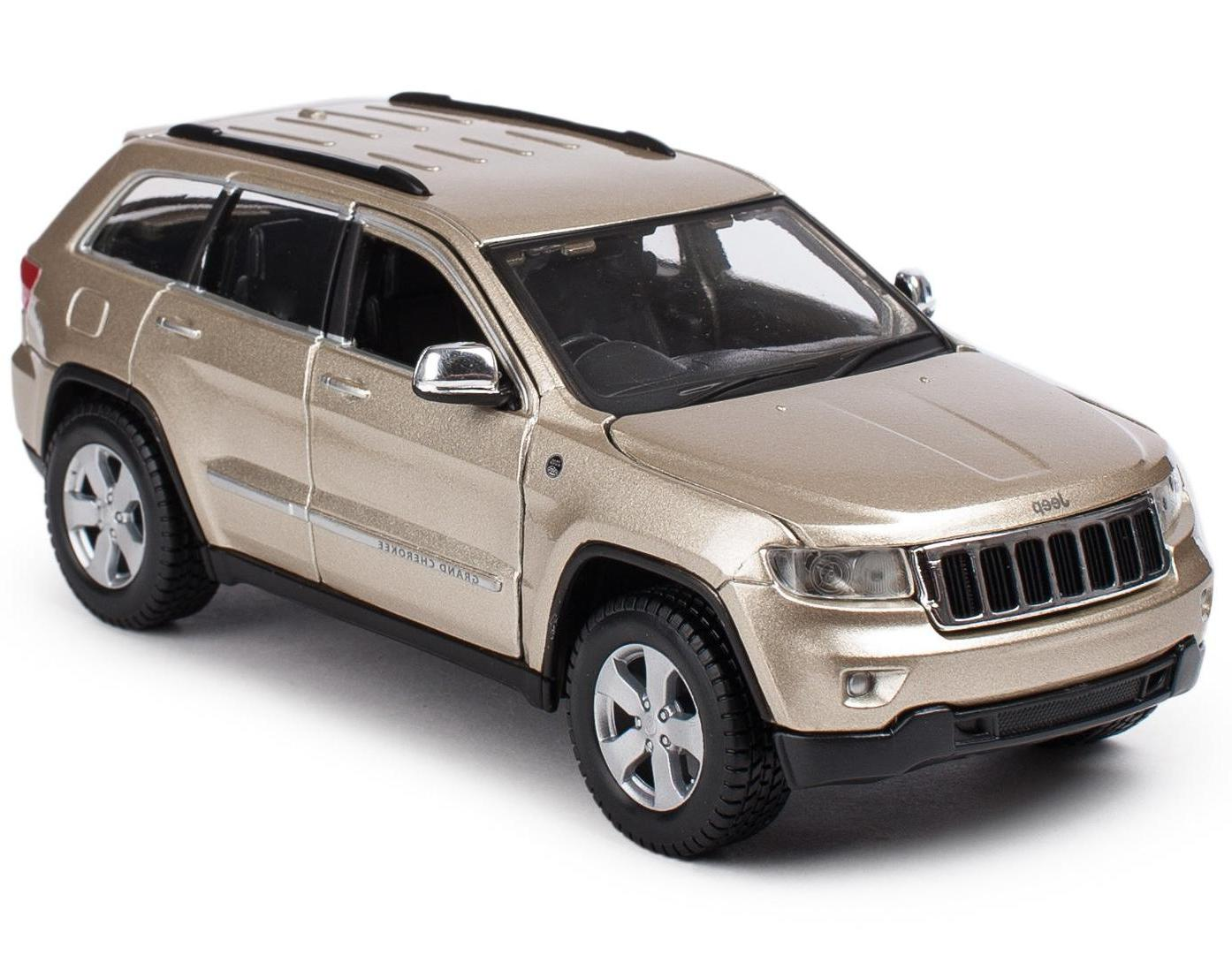 "Maisto ""Машинка бронза - Jeep Grand Cherokee Laredo 2011г 1:24"""