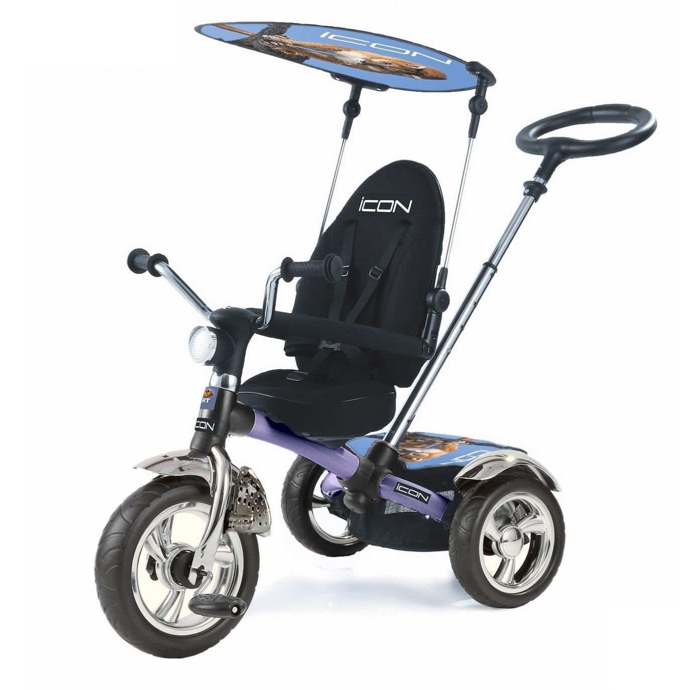Купить ICON Трёхколёсный велосипед Lexus trike original 3 RT , цвет silver-blue pum 4013, Китай