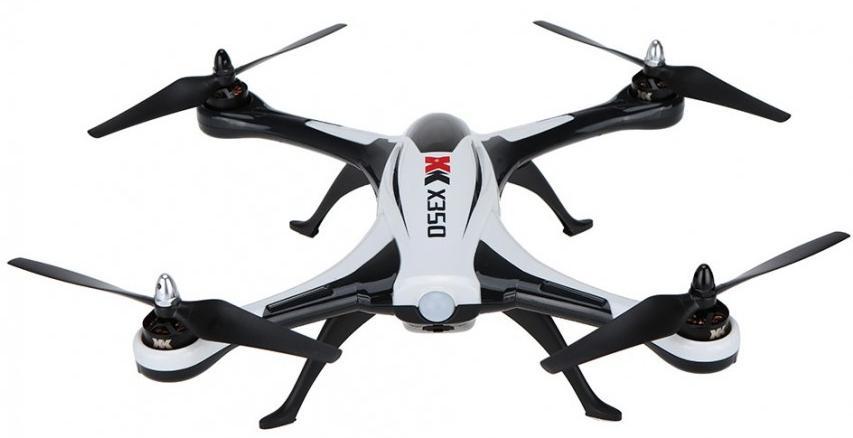 "WL Toys ""XK Stunt X350 Air Dancer   XK-X350"" - радиоуправляемый квадрокоптер"
