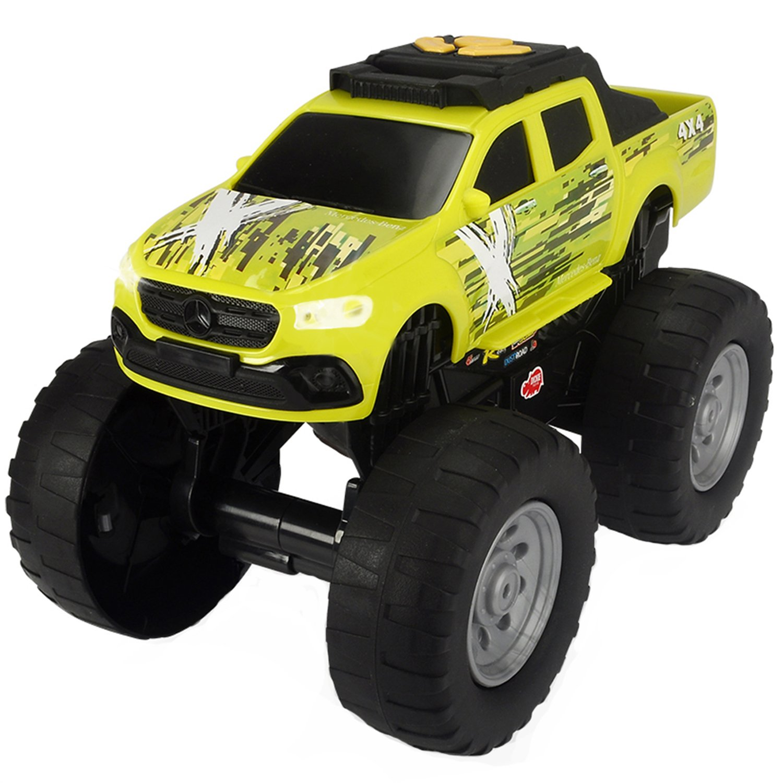 Купить Dickie Toys Машинка рейсинговый монстр-трак Mercedes Benz X моторизированная 25, 5 см свет, звук, 3764013, Китай