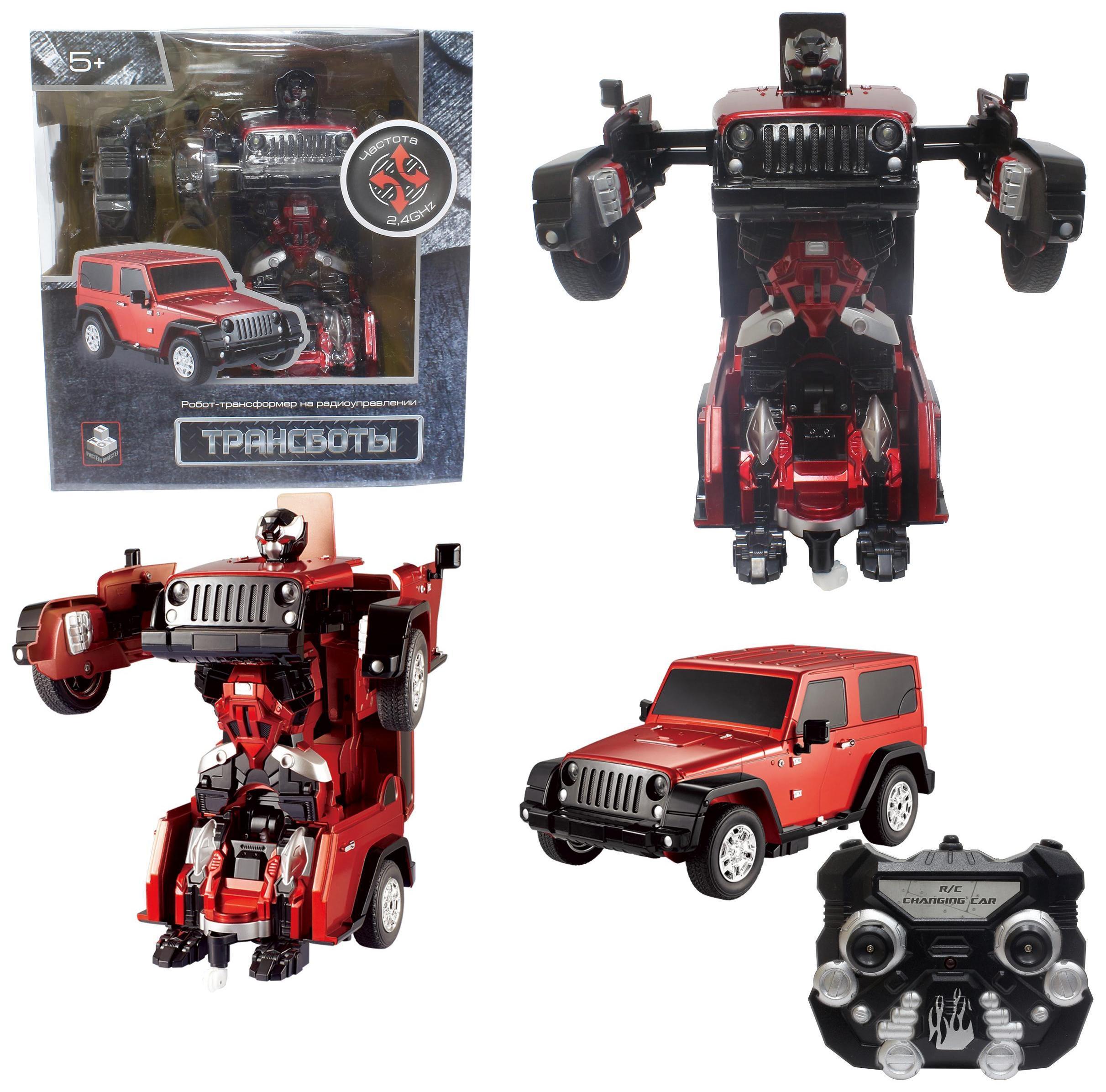 Купить 1TOY Rover - красный - робот-трансформер на пульте, Китай