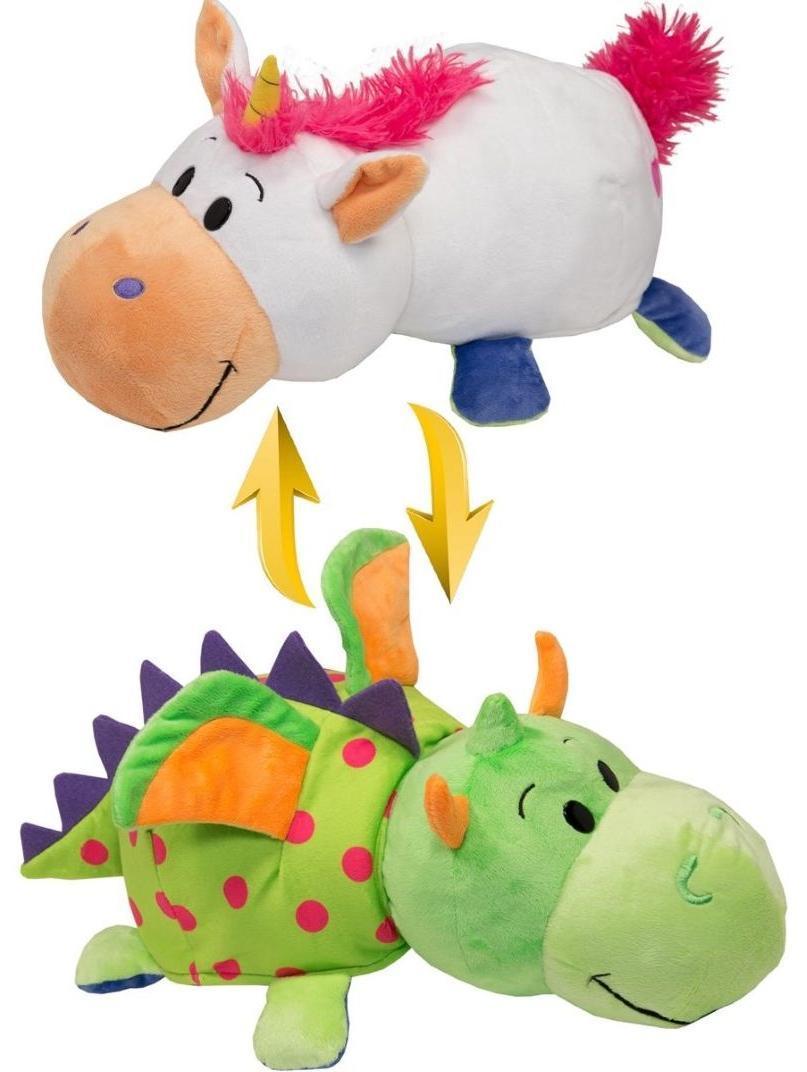 Купить Мягкая игрушка Вывернушки 1Toy Единорог-Дракон | 40 см, Китай