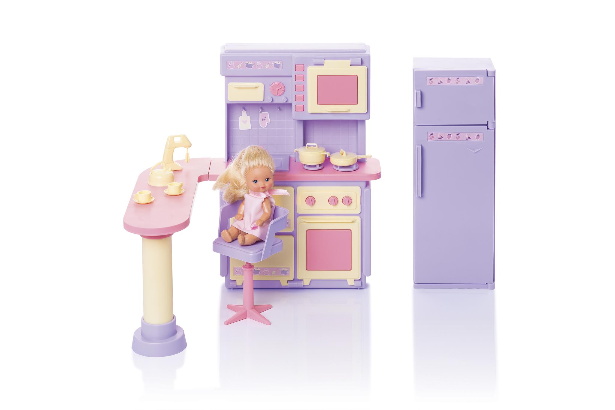 Купить Огонек Кухня Маленькая принцесса , цвет сиреневый, Россия