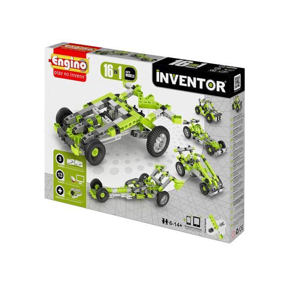 Купить Конструктор ENGINO PB 41/1631 INVENTOR Автомобили - 16 моделей, Кипр