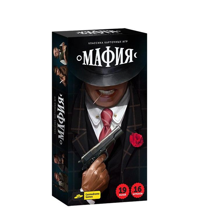 """COSMODROME GAMES """"Мафия - 52045"""" - настольная игра"""