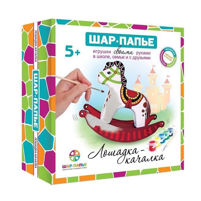 Купить Набор для творчества ШАР-ПАПЬЕ В01963 Лошадка-качалка, Шар-Папье, Россия