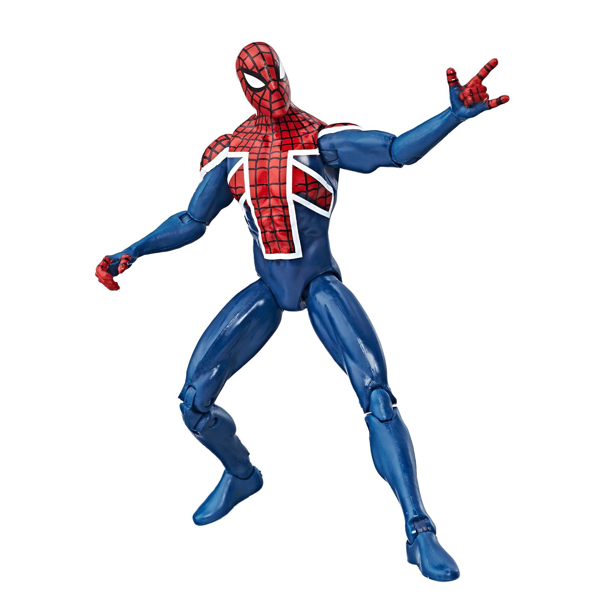 Купить Avengers Marvel Classic коллекционная фигурка Мстители Spider-UK 9, 5 см, Китай