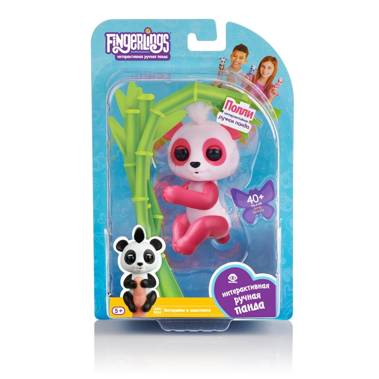 "FINGERLINGS ""Панда Полли"" - интерактивная игрушка"