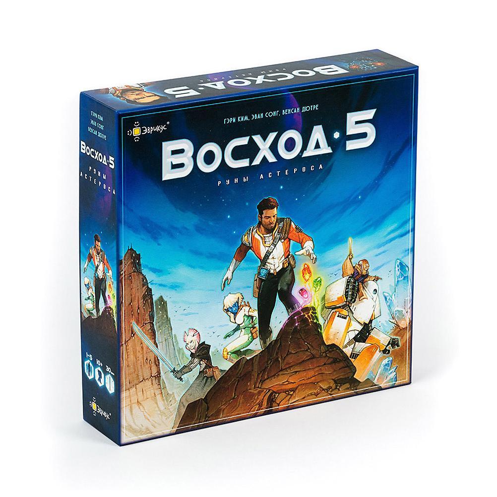 Купить Эврикус Настольная игра Восход 5: Руны Астероса , Россия