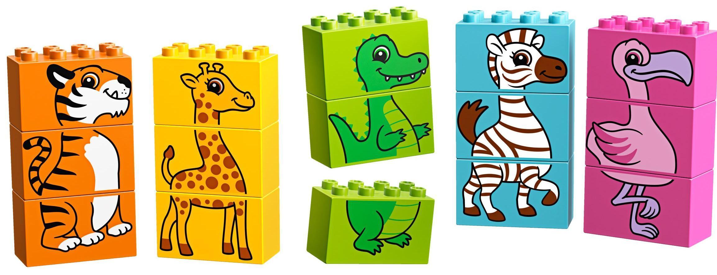 Купить Конструктор LEGO Duplo My First Мой первый паззл, Венгрия