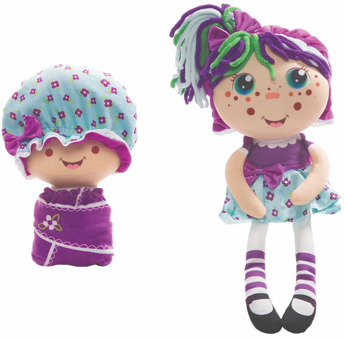 Купить 1Toy Девчушка вывернушка - Варюшка - мягкая кукла 2 в 1, Вывернушки 1Toy, Китай