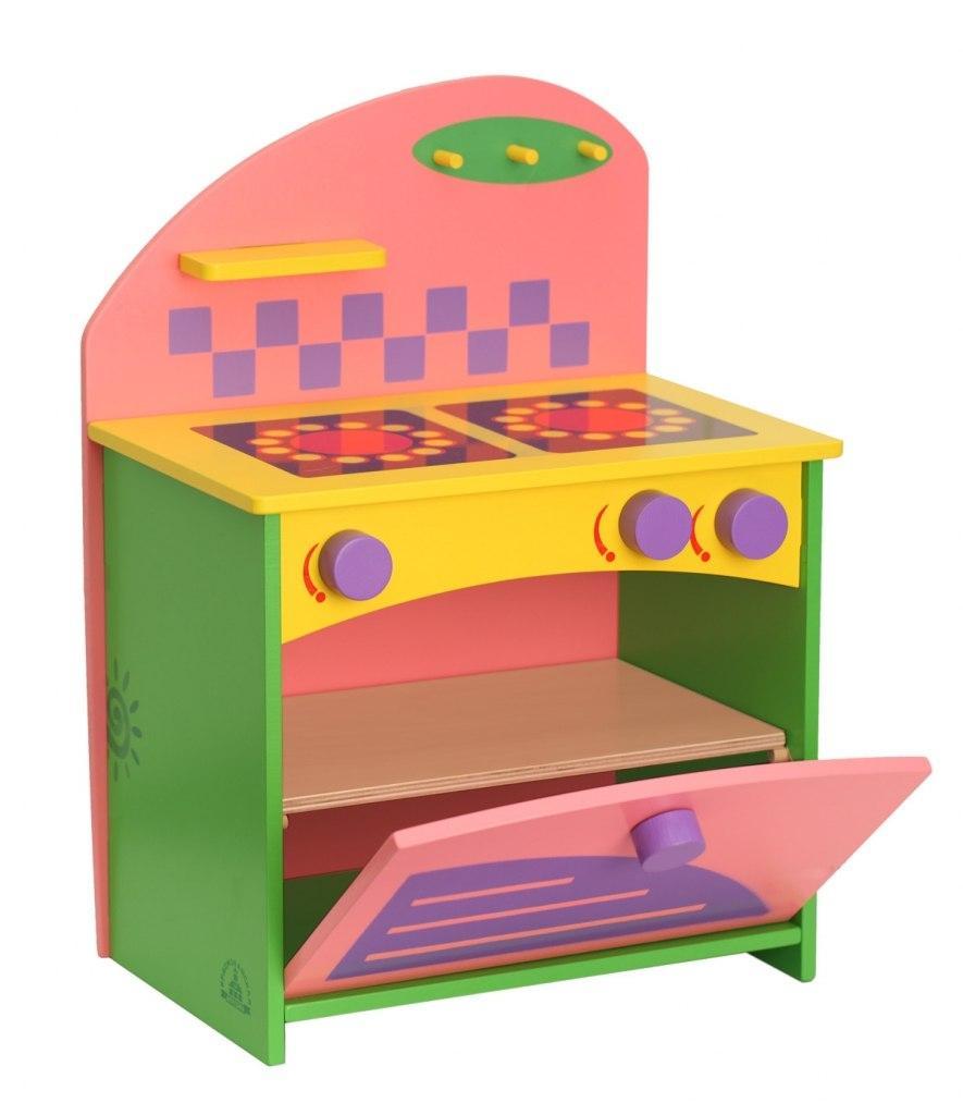 Купить Набор кукольной мебели КРАСНОКАМСКАЯ ИГРУШКА КМ-06 Газовая плита, Краснокамская игрушка, Россия