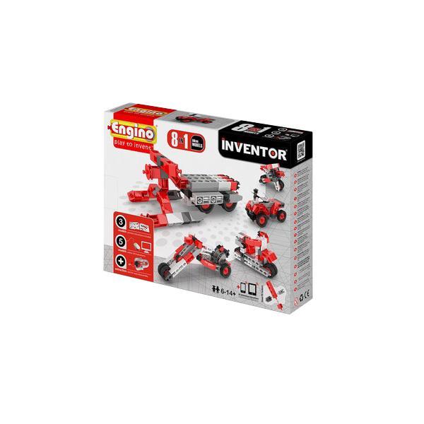 Купить Конструктор ENGINO PB 22/0832 INVENTOR Мотоциклы - 8 моделей, Кипр