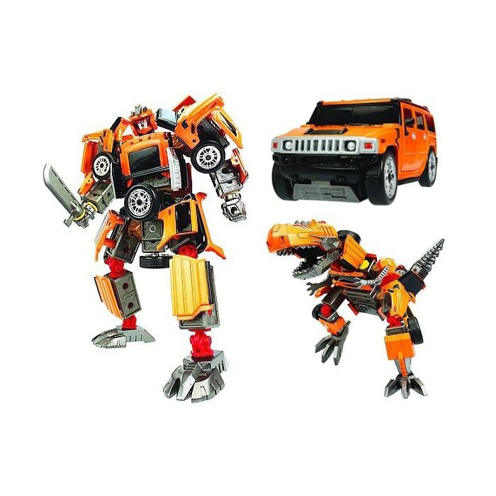 Happy Well сборный робот-трансформер  Hummer H2 55030
