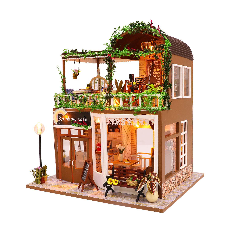 Купить Румбокс DIY MINI House Лаунж кафе , Diy House, Китай