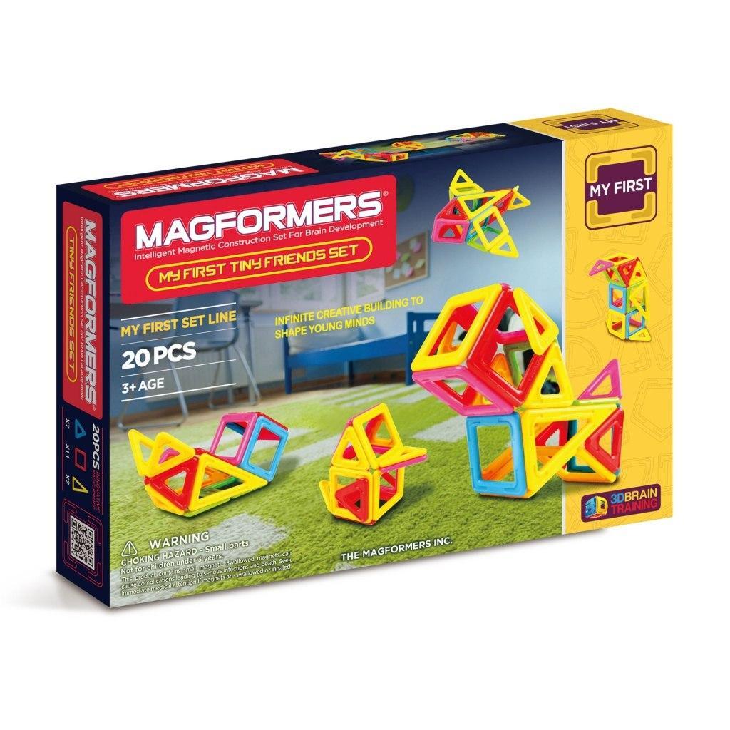 Купить Магнитный конструктор MAGFORMERS 702004 (63143) Tiny Friends, Китай