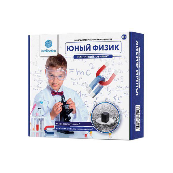 Набор для опытов INTELLECTICO 211 Юный Физик.Магнитный лабиринт