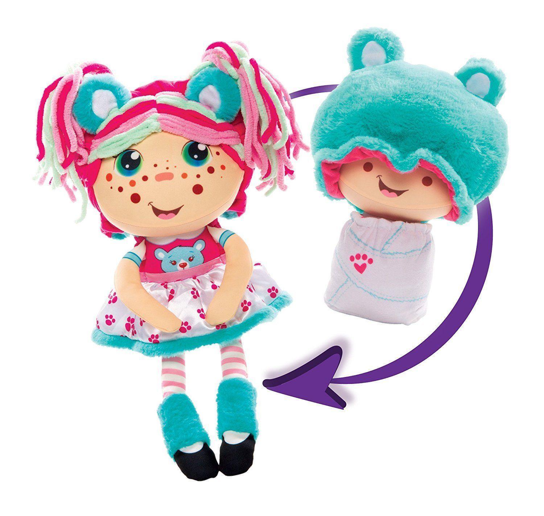 Купить Мягкая кукла 2 в 1 1toy Девчушка вывернушка Надюшка, Вывернушки 1Toy, Китай