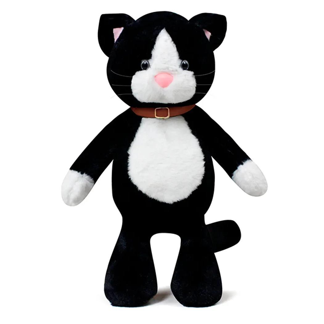 Купить МимиЛапки Мягкая игрушка Черный котик Лапка , 34 см, Россия