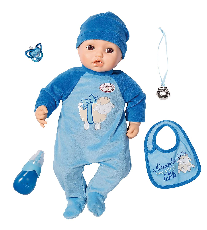 Baby Annabell Кукла-мальчик многофункциональная, 43 см