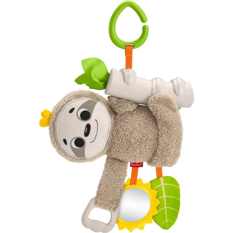 Купить Fisher-price Подвесная игрушка для коляски Ленивец , Китай