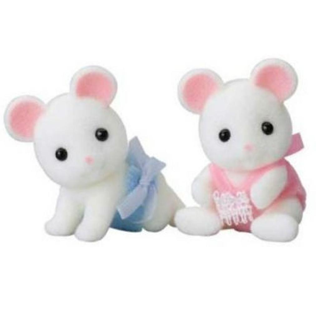 Купить Sylvanian Families набор Белые Мышата-двойняшки , Китай