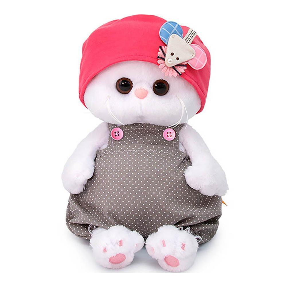 Купить Мягкая игрушка Budi Basa Кошечка Ли-Ли Baby в шапочке с мышкой , 20 см, Россия